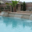 Custom Swimming Pool With Multi Size Sheer Descents